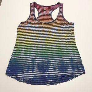 Tops - Rainbow Tie Dye Tank